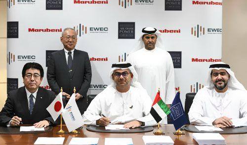 阿布扎比联合日本丸红建阿联酋最大火电项目